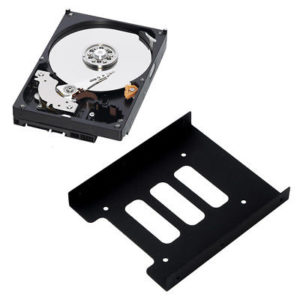 "Internal 2.5""-3.5"" HDD mounting adapter bracket for SSD HDD"