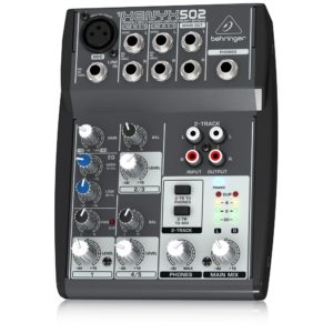 BEHRINGER XENYX 502 PA MIXER 5 CHANNEL