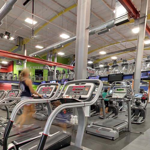 Fitness Centers Virtual Tour Photographer